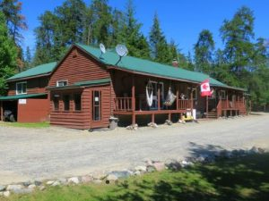 Golden Eagle Camp On The Montreal River
