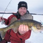 Tracking Down Early Ice Walleye